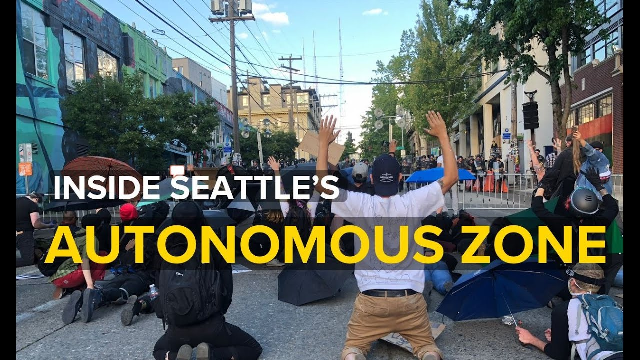Inside Seattle's 'Autonomous Zone'. No police allowed.