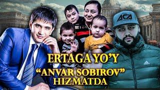 ERTAGA TO'Y ANVAR SOBIROV XIZMATDA