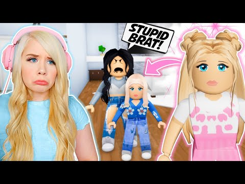 THE HATED CHILD WISHED SHE WAS NEVER BORN IN BROOKHAVEN! (ROBLOX BROOKHAVEN RP) - Mackenzie Turner Roblox