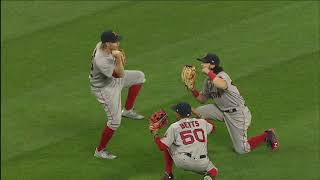Red Sox 2017 outfield dance highlights