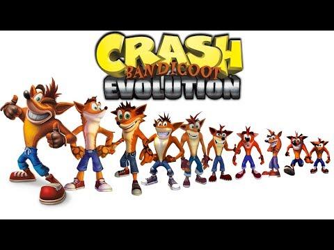 Crash Bandicoot - Evolution