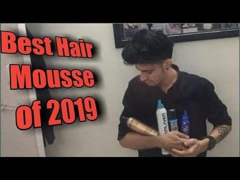 Men's Hairstyle In India : Best Hair Mousse. thumbnail