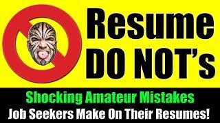 Resume DO NOT