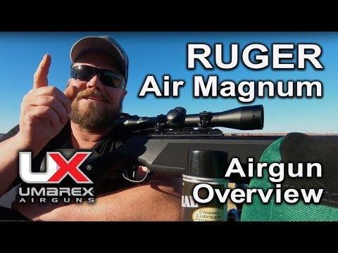 Ruger Air Magnum Pellet Rifle Air Gun : Umarex Airguns Overview