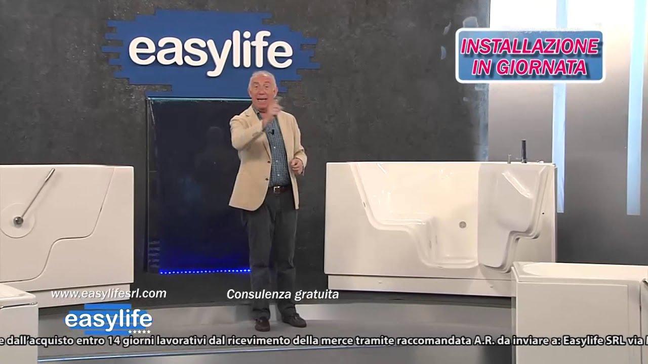 Vasche Da Bagno Easy Life Prezzi : Easylife vasche da bagno con sportello youtube