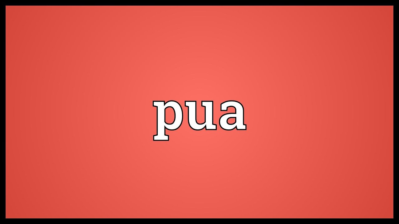 whats a pua