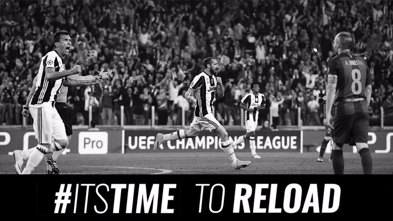 La Juventus preparó otro video para motivar el partido frente a Barcelona