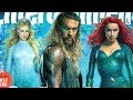 EXCLUSIVE FIRST LOOK AT AQUAMAN, MERA, AND QUEEN ATLANNA