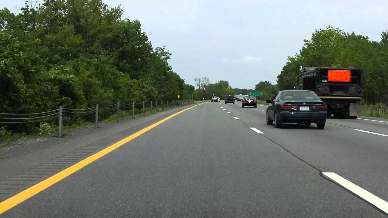 Adirondack Northway (Interstate 87 Exits 1 to 8) northbound