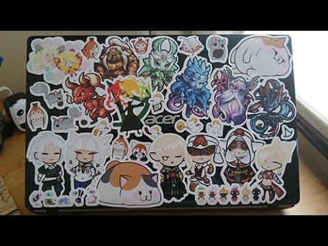Redbubble FFXIV Stickers \