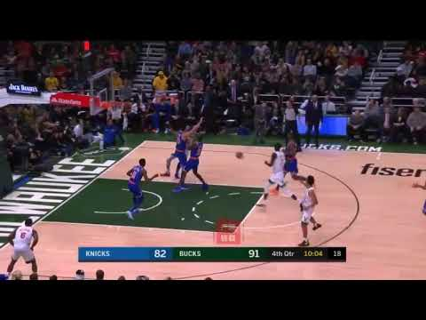 Giannis Antetokounmpo wants to fight Enes kanter after he elbows him to the ground