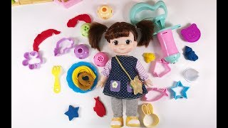 Rubber clay toy!!!Make delicious noodles with rubber mud,Kid toy video丨CWToys TV