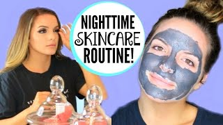 My Nighttime Skincare ROUTINE! | Casey Holmes