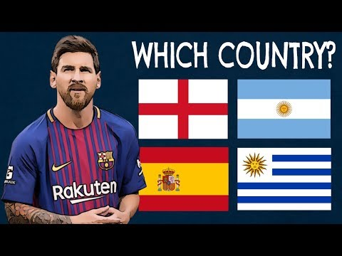 Which Countries Do The Players Play For? (Part 3)  Football Quiz