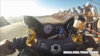 DRAG RACING SUZUKI GSXR 1000 VS TL 1000