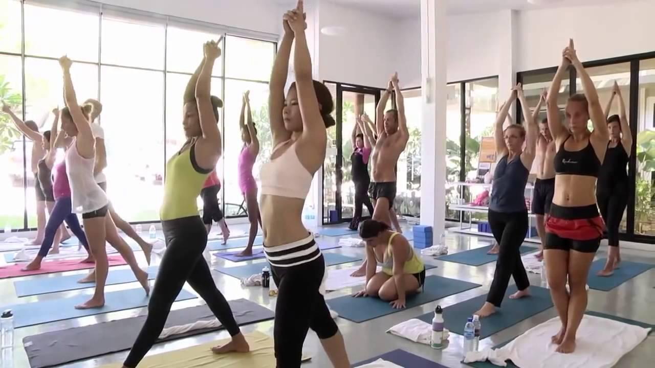Hot Yoga Evolution Class DVD Sample HD - YouTube
