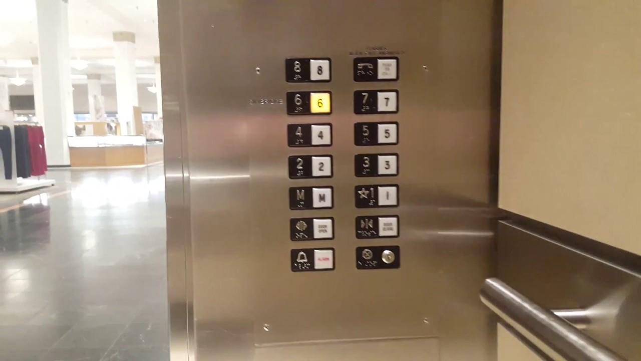 Otis Traction Elevators - Macy\'s Store - Seattle, Washington - YouTube