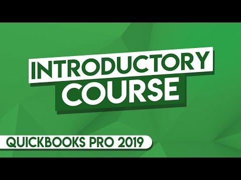 QuickBooks Tutorial: QuickBooks 2019 Course For Beginners