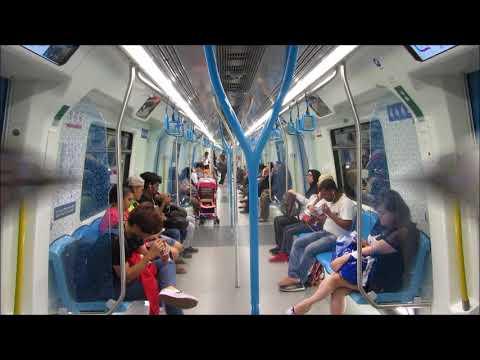 Metro in Kuala Lumpur - MRT - Underground - U-bahn - Tube
