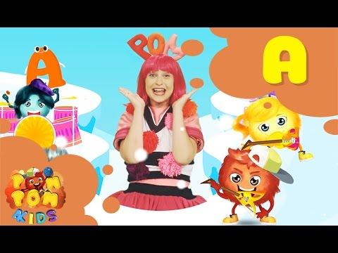 Letter A | ABC Alphabet Song | POMPOM Band & Anna |  POMPOM4kids Song