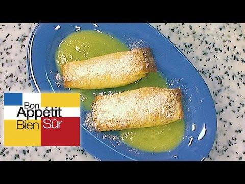 crêpes-soufflées-à-la-pistache-sauce-à-l'ananas-et-au-rhum-[recette]