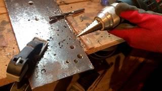 Нереально крутое сверло по металлу. Тест