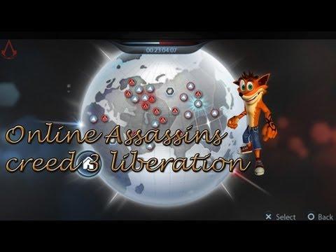Jugando el Online de Assassins creed 3 Liberation Ps Vita Español