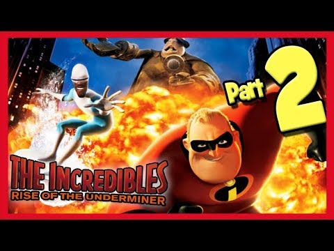 The Incredibles: Rise of the Underminer Walkthrough Part 2 Blizzard Backdoor