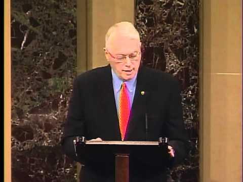 Bunning Bids Farewell to the Senate