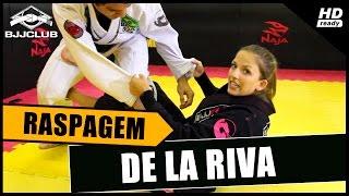 Jiu-Jitsu - Raspagem De La Riva - Carol Mascaro - BJJCLUB