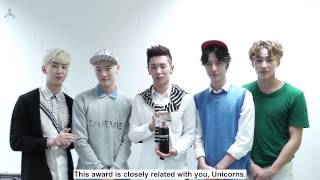 [ENGSUB] 150709 UNIQ THESHOW China Choice Reward Speech