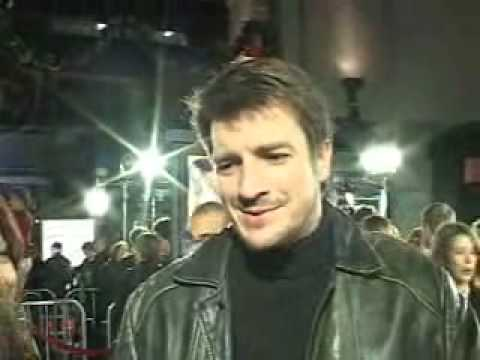 Nathan Fillion loves his flans