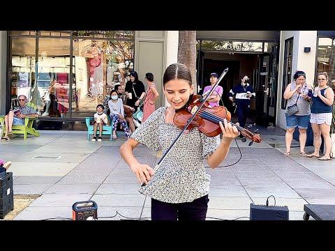 A Genius Girl Playing So Fast - Good 4 u - Olivia Rodrigo - Violin Cover by Karolina Protsenko