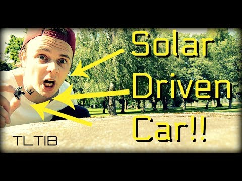 Solar driven car!! | TLTIB