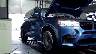 2015 bmw f85 x5m s63tu engine dyno by ind