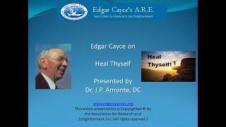 Edgar Cayce on Heal Thyself