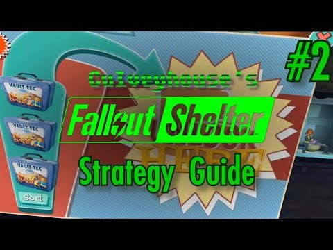 Fallout Shelter Strategy Guide, Part 2: Your First 18 Dwellers And More Lunchboxes!