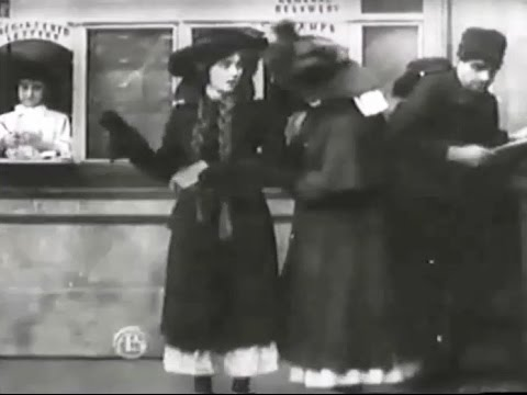 """""""The Girls and Daddy"""" (1909) director D. W. Griffith"""