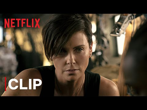 Do You Speak Russian?   Charlize Theron Airplane Action Scene   The Old Guard   Netflix India
