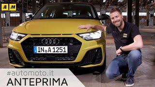 Audi A1 2018 | design Sport Quattro per la nuova B premium Sportback
