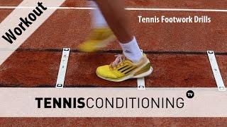 Tennis Footwork Drills | Tennis Conditioning