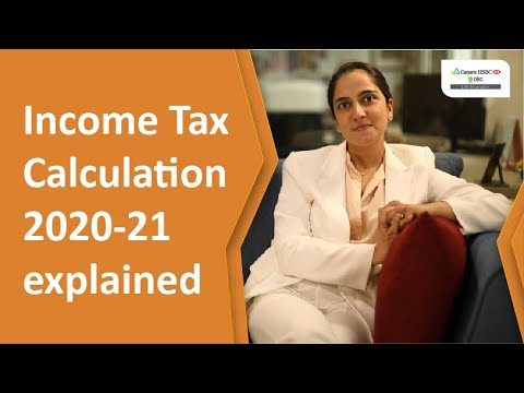 How to Calculate Income Tax for AY 2020-21| Canara HSBC ...