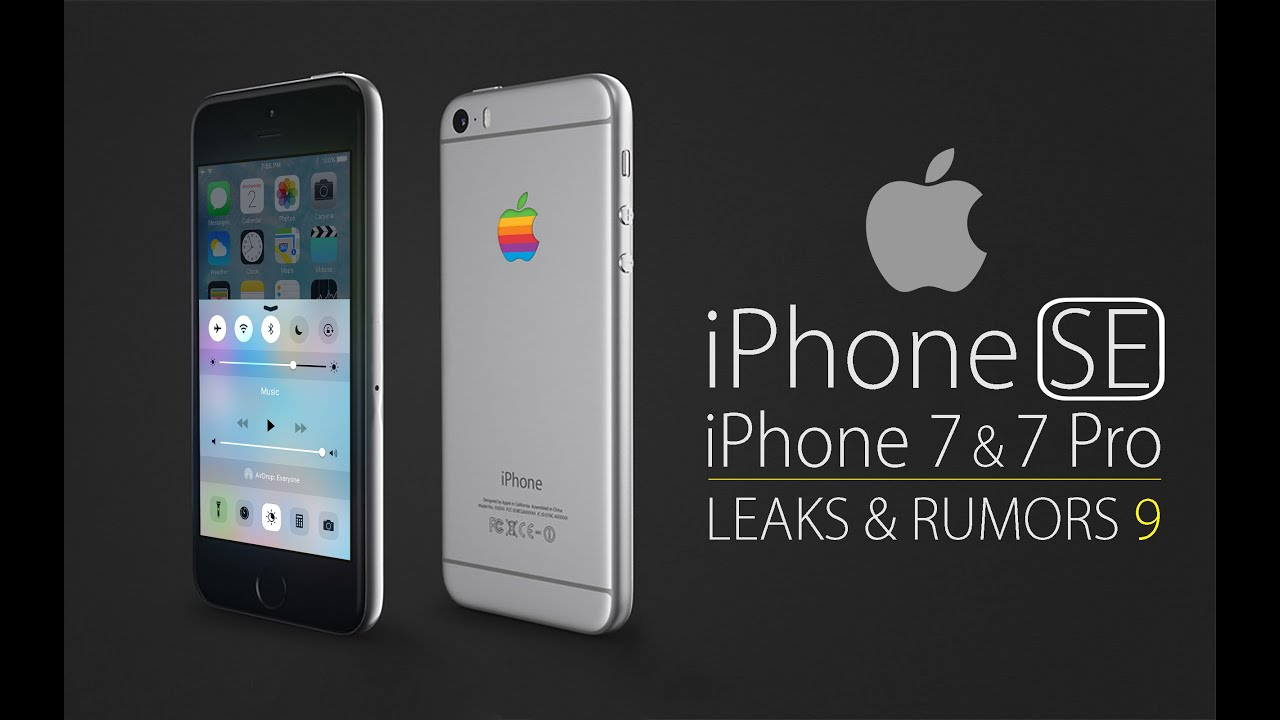 IPhone 7 Pro SE