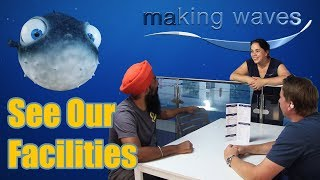 Making Waves Playsport Pool Walk Through Tour - Private Swimming Lessons Glasgow
