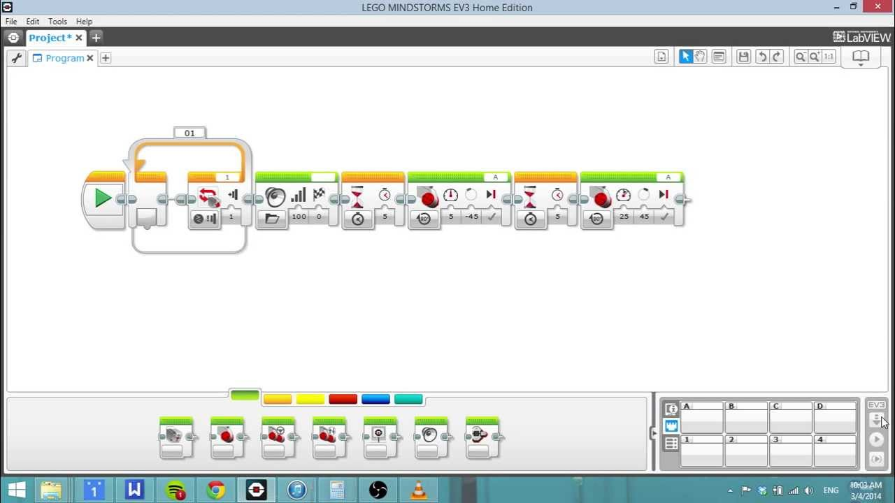 How to Download EV3 Program - YouTube