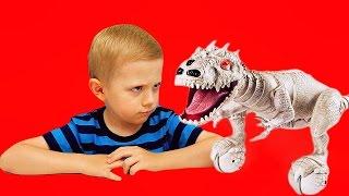 Динозавр Индоминус Рэкс. Мир юрского периода. Zoomer Dino. Jurassic world INDOMINUS REX