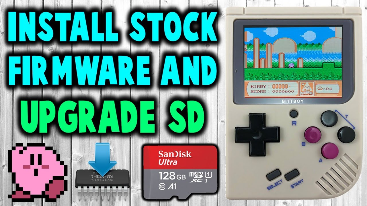 mount stock firmware from sd card