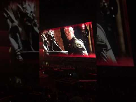 Serj Tankian Surprise Performance At GAME OF THRONES Live Concert | Metal Injection