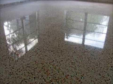 Vinyl Tile To Terrazzo Restoration 877 824 0501