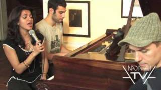 """Fantasy"" Nadia Ali acoustic session with Ned Shepard and Bill Finizio"